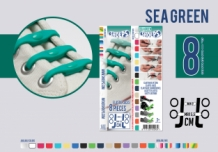 SHOEPS SEA GREEN 8 STUKS